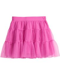 H&M Tiered Tulle Skirt - Lyst