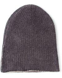 Warm-me 'Cozy-2' Interlock Knit Beanie - Lyst