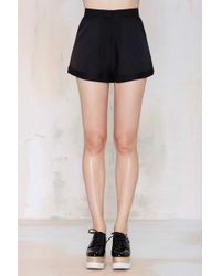 Nasty Gal In Harmony High-Waisted Short - Lyst