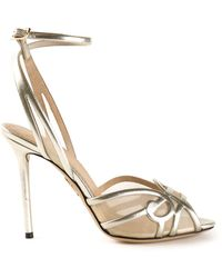 Charlotte Olympia Swirl Sandals - Lyst