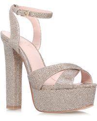 Lipsy Verity High Heel Sandals - Lyst