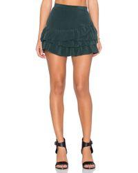 IKKS - Volants Mini Skirt - Lyst