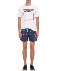Saturdays Surf Nyc Square Saturdays Tshirt - Lyst