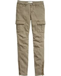 H&M Cargo Pants In A Lyocell Blend - Lyst