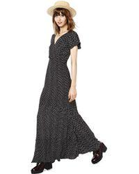 Nasty Gal Ebony Eve Pretty Petal Maxi Dress - Lyst