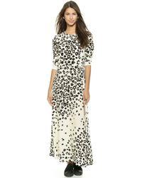 Sea Long Leo Dress - Cream - Lyst