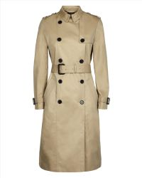 Jaeger Double-Breasted Trench Coat - Lyst