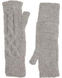 Eugenia Kim Joelle Fingerless Gloves gray - Lyst