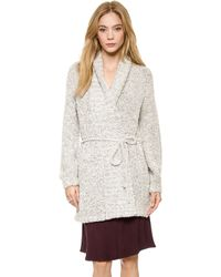 La't By L'agence Wrap Sweater Powder - Lyst
