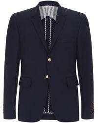 Thom Browne Wool Sport Coat - Lyst