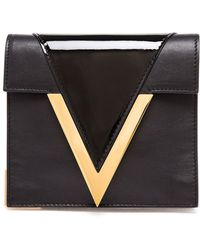 Versus  V-clasp Shoulder Bag - Lyst