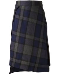 Vivienne Westwood Red Label Tartan Skirt - Lyst