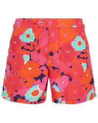 Tom Ford - Blurred Floral Swim Shorts - Lyst