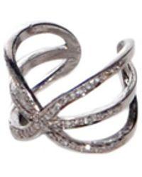 Theodosia - Three Bar Ring - Lyst