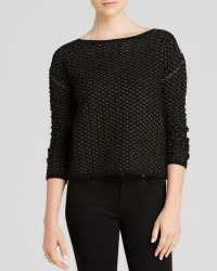 Milly Sweater - Metallic Pointelle - Lyst