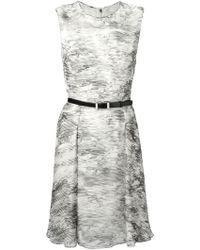 Jason Wu Belted Printed Dress - Lyst