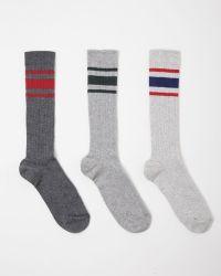 Étoile Isabel Marant Beyond Sport Socks Set Of Three gray - Lyst