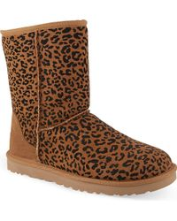 Ugg Classic Short Rosette Boots - Lyst