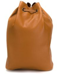Erika Cavallini Semi Couture - Drawstring Backpack - Lyst