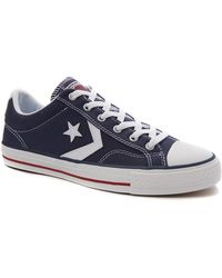 Converse Cons Star Player Plimsolls blue - Lyst