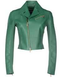 DSquared² Jacket green - Lyst
