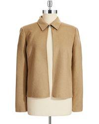 Calvin Klein Open Front Jacket - Lyst