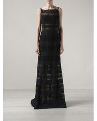 Nina Ricci Long Evening Gown - Lyst