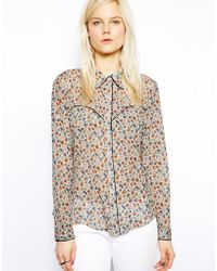 Twenty 8 Twelve Gottfried Doll Print Top - Lyst