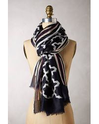Anthropologie Tiled Scarf - Lyst