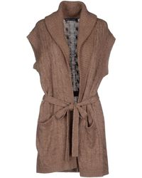 Ralph Lauren Cardigan brown - Lyst