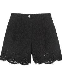 Versus | Cotton-blend Guipure Lace Shorts | Lyst