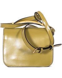 "Marni Color Lime ""Sculpture"" Shoulder Bag yellow - Lyst"