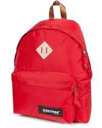 Eastpak Padded Pack'R Red Nylon Backpack - Lyst