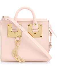 Sophie Hulme - Albion Leather Cross-Body Bag - Lyst