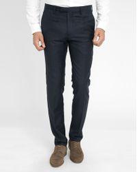 Billtornade Navy Shane Suit Trousers - Lyst