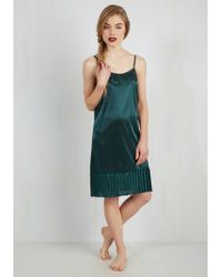 O2 Collection - Foundation Fascination Full Slip In Teal - Lyst
