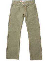 Levi's ® Boys' 505 Rigid Straight-Fit Jeans green - Lyst