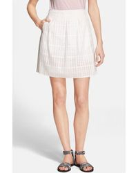 Vince Women'S Pleated Skirt - Lyst