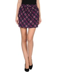 D&G Mini Skirt - Lyst