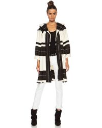Isabel Marant Adil Blanket Wool Blend Jacket - Lyst