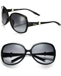 Dior Mystery 61Mm Round Sunglasses - Lyst
