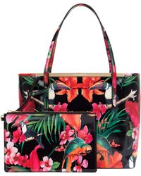 Ted Baker Satchel Opela Opulent Bloom Printed - Lyst