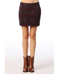 Antik Batik Mini Skirt  Donia1msk - Lyst