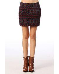 Antik Batik Mini Skirt  Donia1msk - Lyst