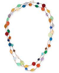 Margo Morrison - Carnival Multi-stone Long Necklace - Lyst