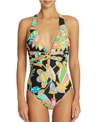 Trina Turk Tahiti One Piece Swimsuit - Lyst