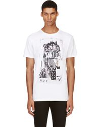 Marc Jacobs White Collage Graphic Bst Edition T_shirt - Lyst