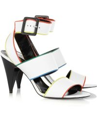 Pierre Hardy Labanda Leather Sandals - Lyst