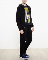 Raf Simons Hooded Sweatshirt With Photo Print - Lyst