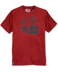 LRG Big and Tall Logo Cluster T-shirt - Lyst